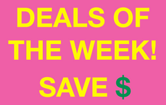 DEALS & STEALS OF THE WEEK