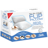 Contour 10 in 1 Flip Pillow Sleeping Reading Wedge Supportive Comfort - Footit Medical, CPAP, Stairlift, Orthotic, Prosthetic, & Mobility Supply