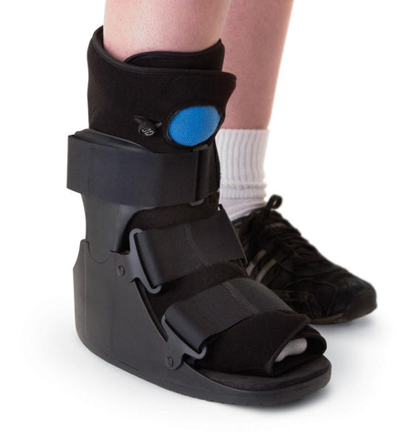Walking Boot Short Pneumatic Ankle Boot Short - Footit Medical, CPAP, Stairlift, Orthotic, Prosthetic, & Mobility Supply