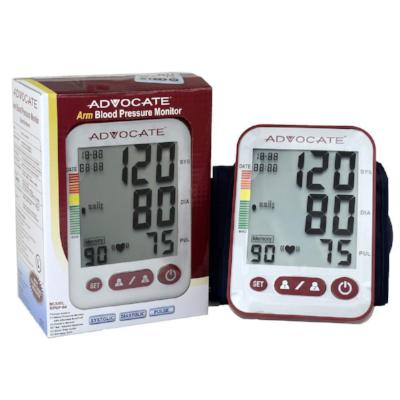 Blood Pressure Monitor with Arm Cuff, Batteries, & Warranty