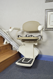 Refurbished Harmar Pinnacle SL300 Stairlift Straight Rail - Footit Medical, CPAP, Stairlift, Orthotic, Prosthetic, & Mobility Supply