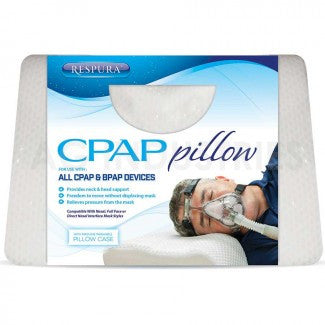 CPAP Pillow BIPAP Sleep Bed with Pillow Cover - Footit Medical, CPAP, Stairlift, Orthotic, Prosthetic, & Mobility Supply