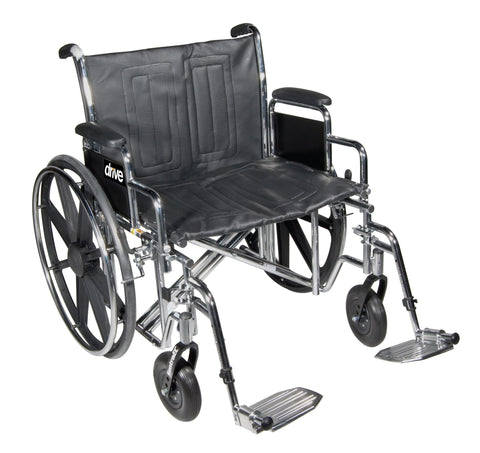 Bariatric Extra Wide Wheelchair with 1 Year Warranty! 450LBS Capacity