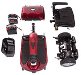 Golden Companion Three Wheel Scooter GC240D - Footit Medical, CPAP, Stairlift, Orthotic, Prosthetic, & Mobility Supply