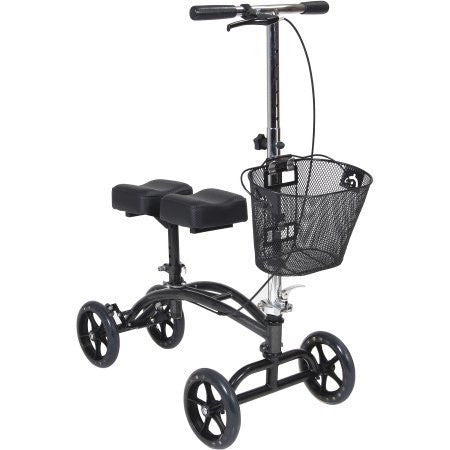 Knee Walker Scooter Medical Grade Steerable/Brakes/Folds Compact