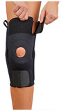 AKS (TM) Knee Support with Plastic Hinges - Neoprene - Footit Medical, CPAP, Stairlift, Orthotic, Prosthetic, & Mobility Supply