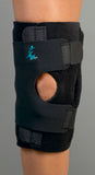 Dynatrack (TM) patella stabilizer with metal hinges (left)