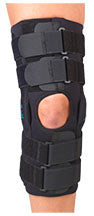 "Gripper (TM) 16"" GP Hinge Knee Brace with CoolFlex - Footit Medical, CPAP, Stairlift, Orthotic, Prosthetic, & Mobility Supply"