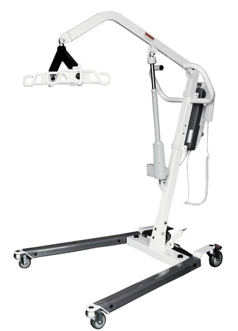 Electric Patient Lift Portable Sit to Stand Power Patient Lift Rechargeable - Footit Medical, CPAP, Stairlift, Orthotic, Prosthetic, & Mobility Supply