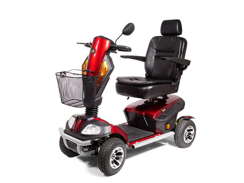Golden Patriot 400lbs Capacity Heavy Duty Four Wheel Outdoor Scooter GR575D - Footit Medical, CPAP, Stairlift, Orthotic, Prosthetic, & Mobility Supply