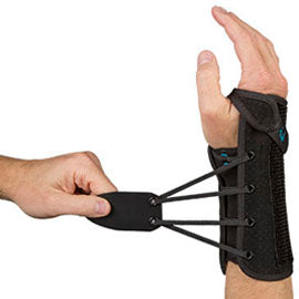 "8"" Wrist Lacer (TM) II Wrist Brace - Footit Medical, CPAP, Stairlift, Orthotic, Prosthetic, & Mobility Supply"