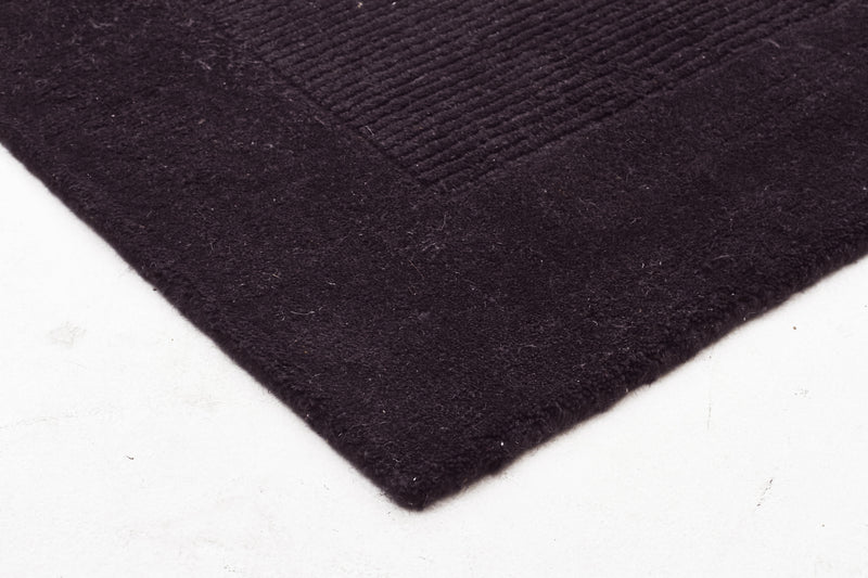 Cut and Loop Pile Rug Charcoal - MaddieBelle