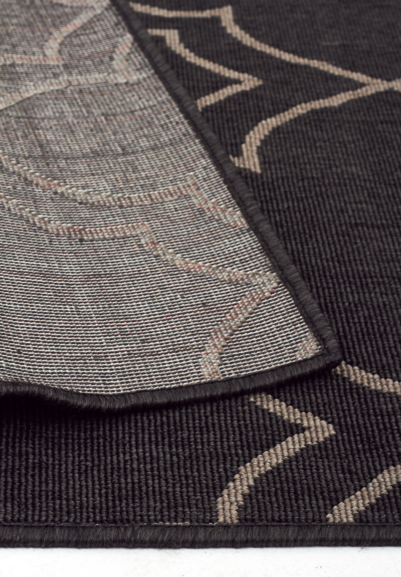 Casablanca Charcoal Outdoor Rug