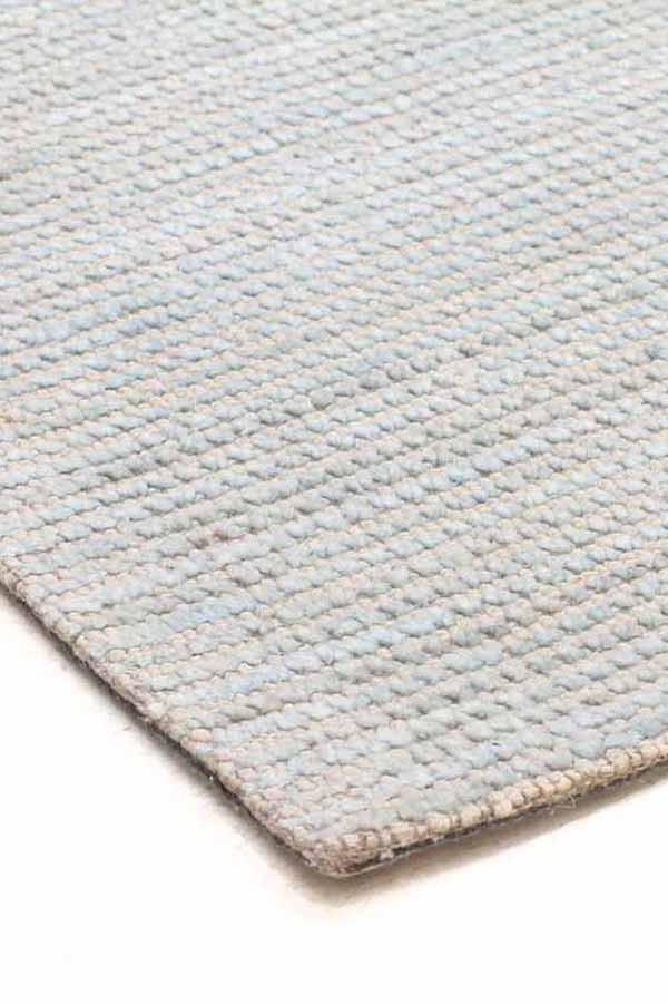 Sky Cotton Rayon Rug - MaddieBelle