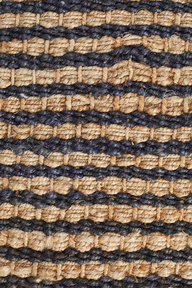 Atrium Cable Weave Navy - MaddieBelle