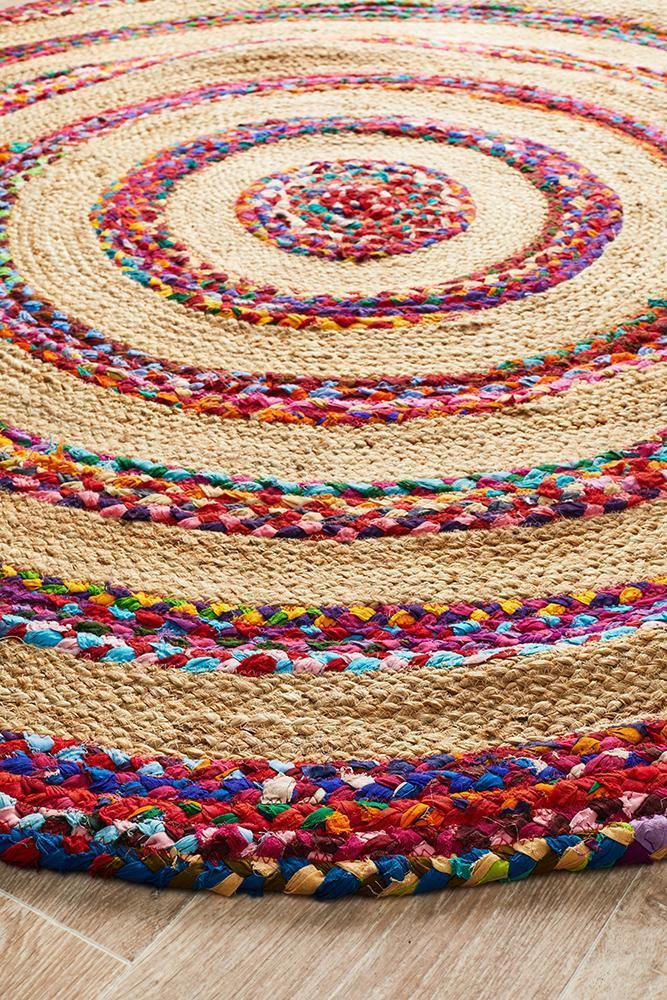 Atrium April Target Cotton and Jute Rug - MaddieBelle