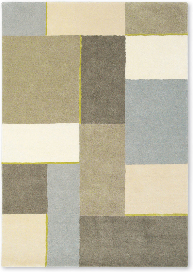 HARLEQUIN HESSIAN WOOL RUG