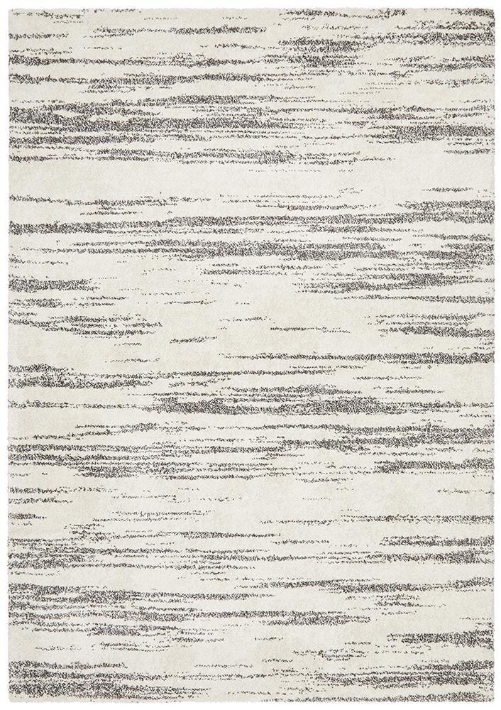Broadway Evelyn Contemporary Charcoal Rug - MaddieBelle