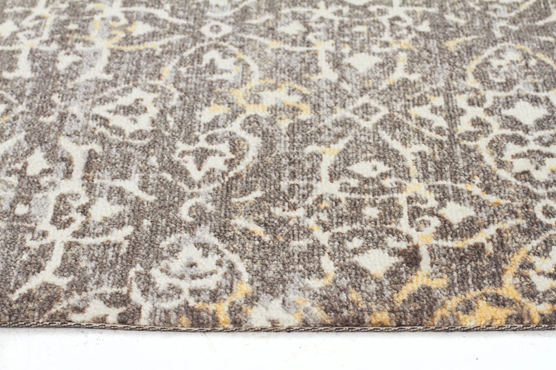 Faded Modern Brown Rug - MaddieBelle