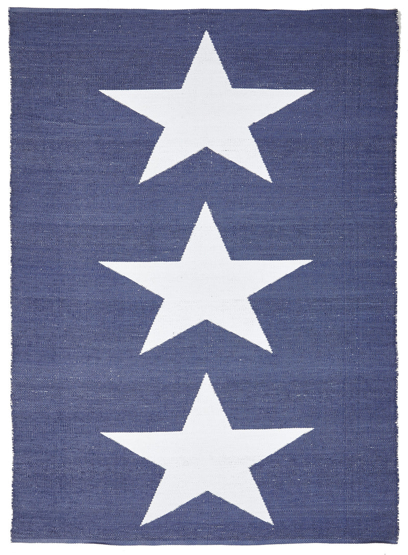 Coastal Indoor Outdoor Star Rug - MaddieBelle