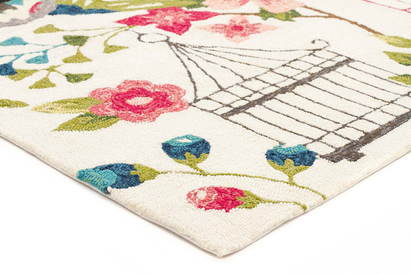 Garden of Love Indoor/Outdoor Rug