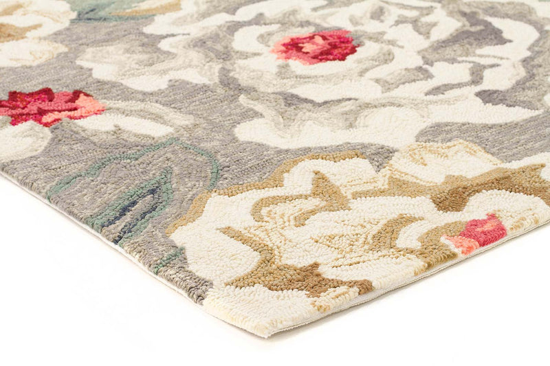 Paeonia Indoor/Outdoor Grey Rug