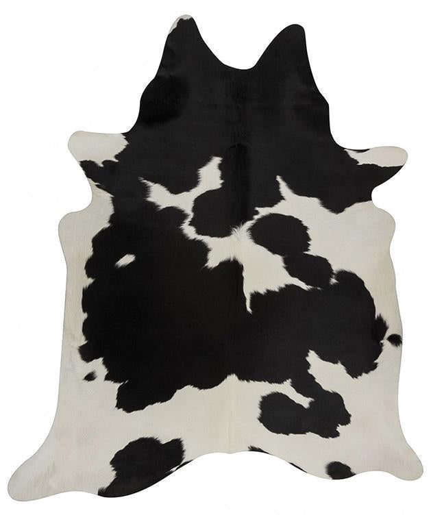 Exquisite Natural Cow Hide Black White - MaddieBelle