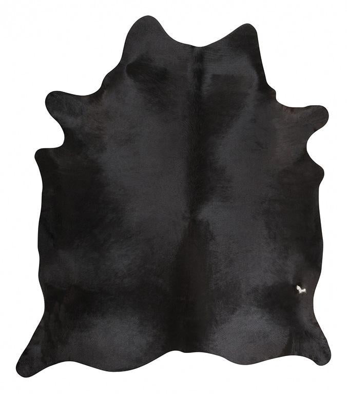 Exquisite Natural Cow Hide Black - MaddieBelle