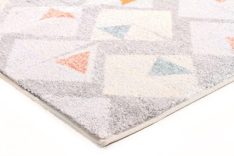 Divinity Time Grey Modern Rug - MaddieBelle