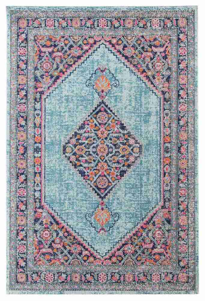 Bohemian Blue Diamond Rug