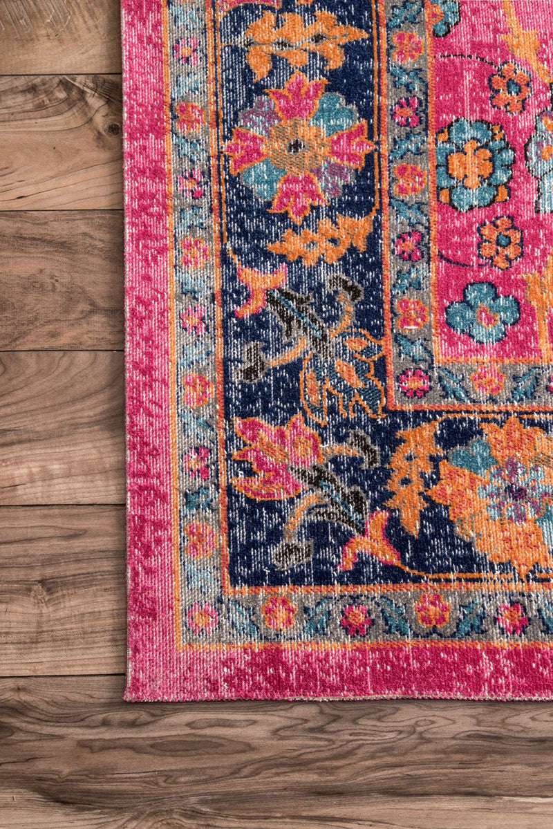 Bohemian Love Pink Rug - MaddieBelle
