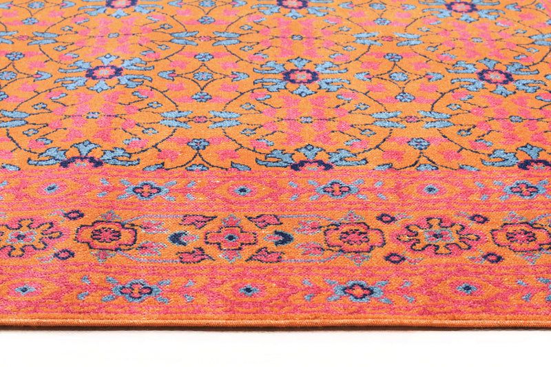 Whisper Sunset Rust Runner Rug - MaddieBelle