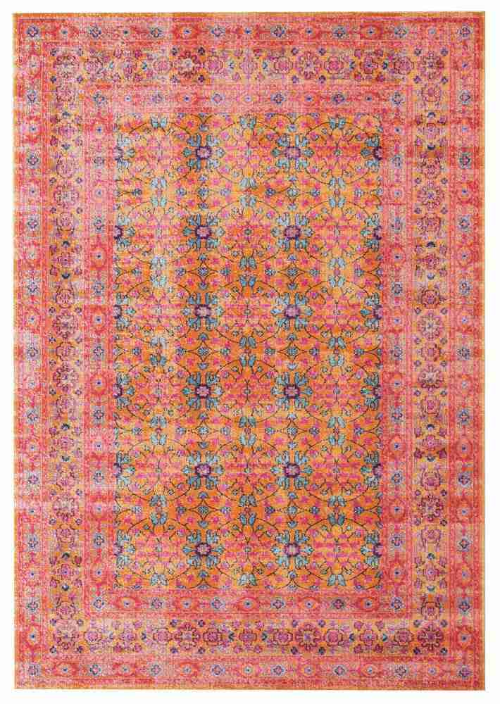 Whisper Sunset Pink Rust Rug - MaddieBelle
