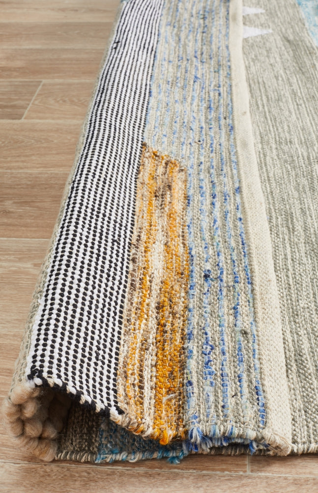 Fusion Stir Multi Hand Woven Rug - MaddieBelle