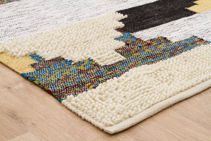 Fusion Mix Multi Wool & Cotton Rug - MaddieBelle