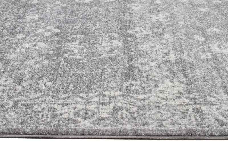 Pidgeon Grey Transitional Rug - MaddieBelle