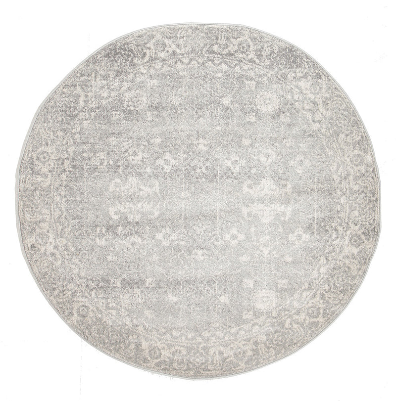 Shine Silver Transitional Rug - MaddieBelle