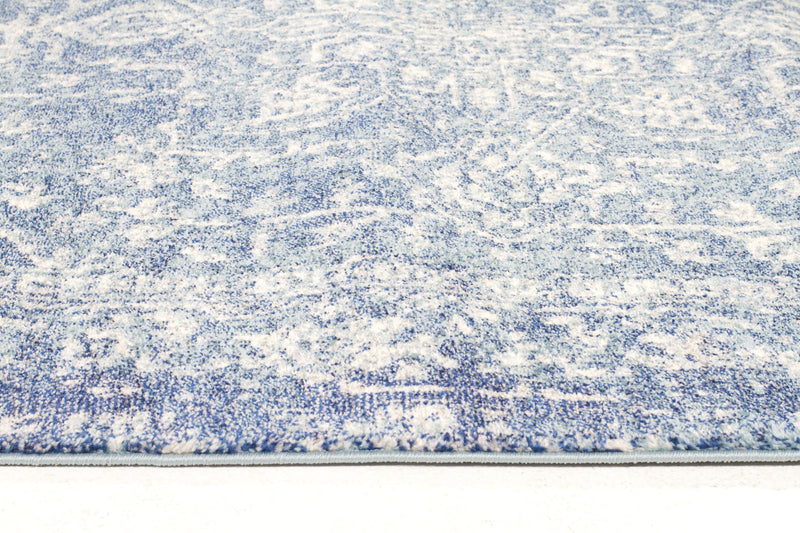 Muse Blue Transitional Rug - MaddieBelle