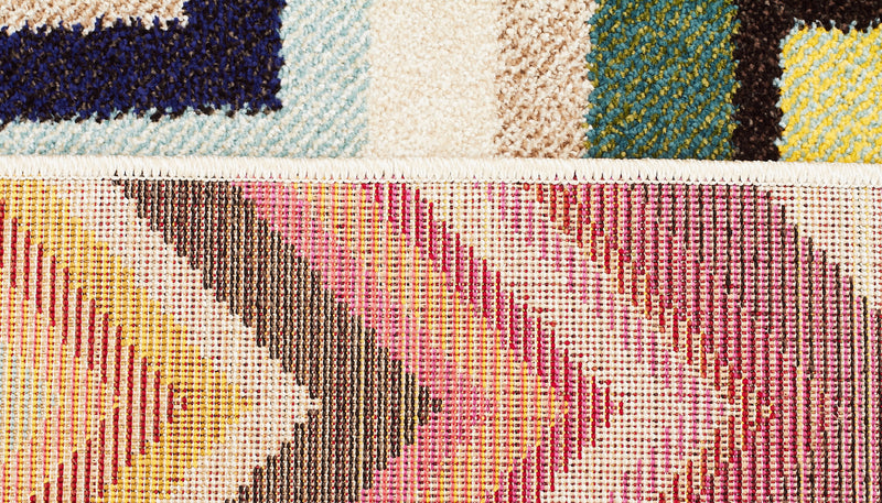 Loti Modern Multi Coloured Rug - MaddieBelle