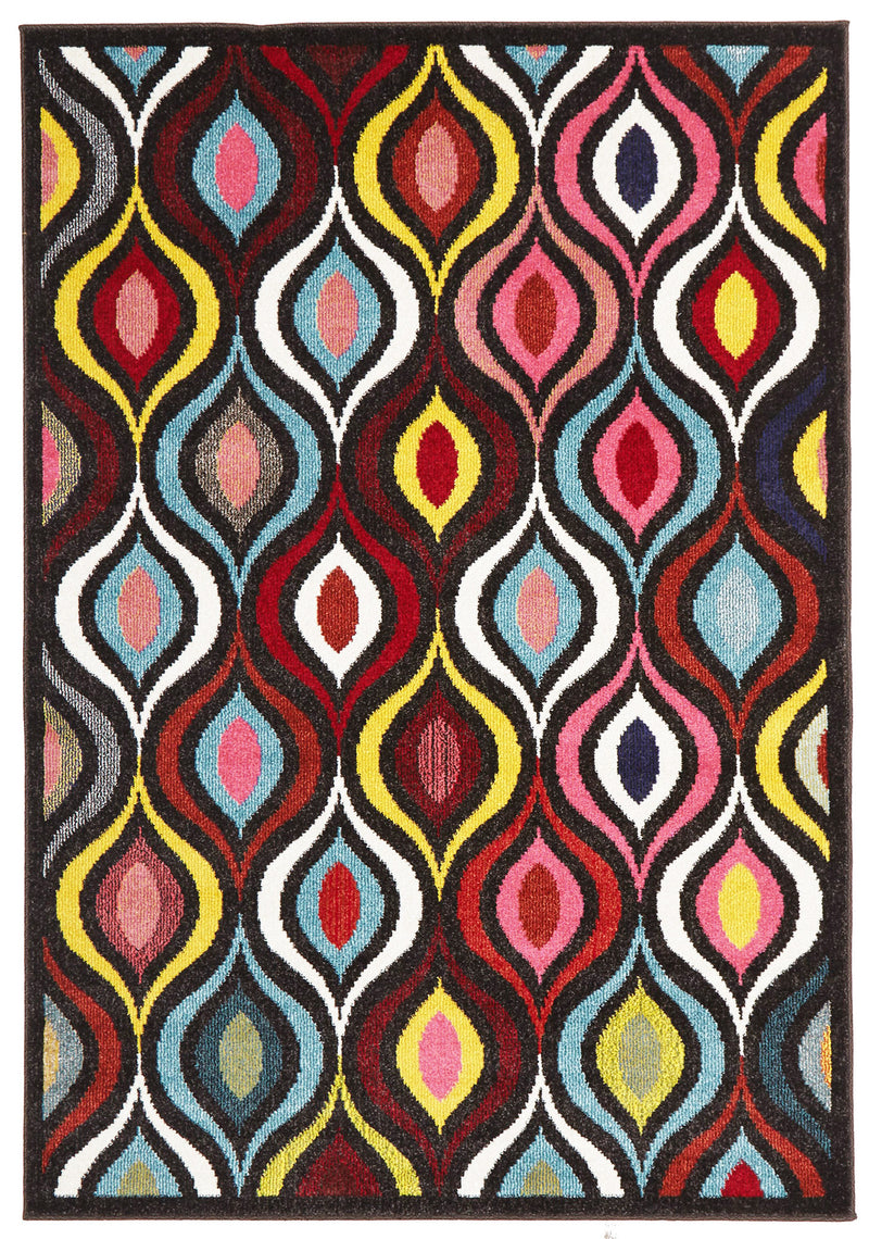 Lorenzo Multi Coloured Rug - MaddieBelle