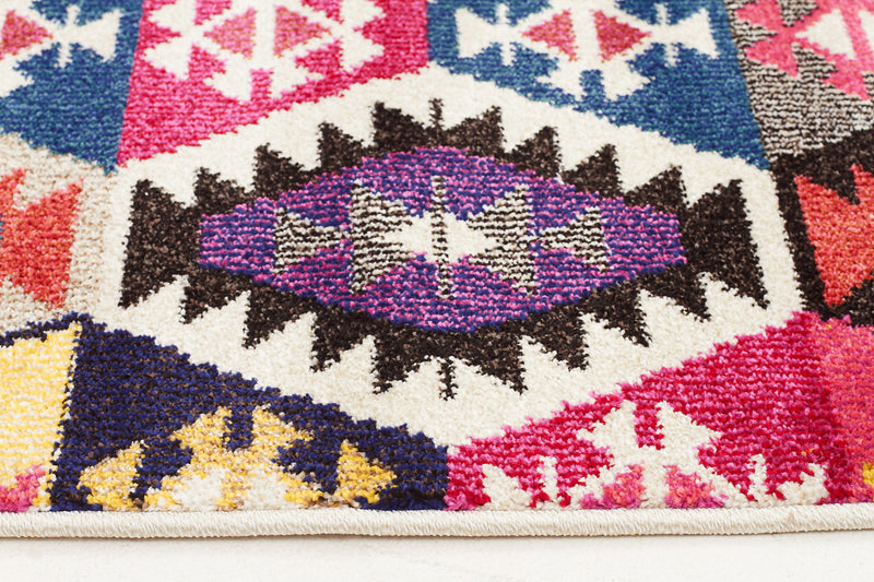 Kelim Multi Coloured Rug