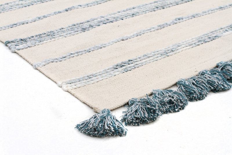 Coconut White Reversible Rug