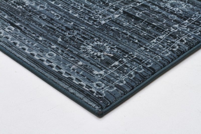 Kings Court Designer Rug Blue - MaddieBelle