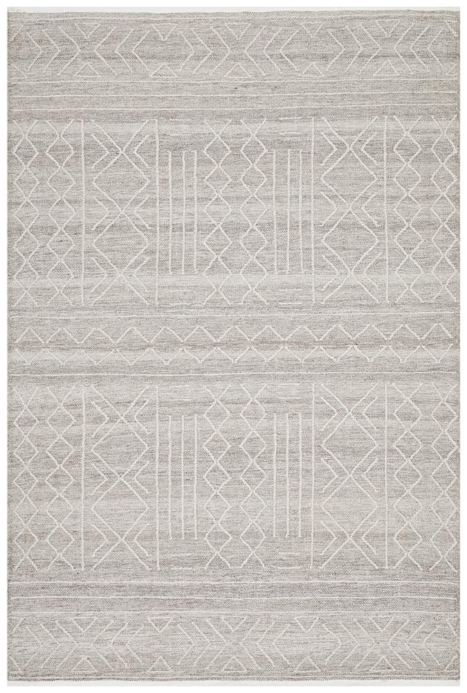 Arya Stitch Woven Natural Rug - MaddieBelle