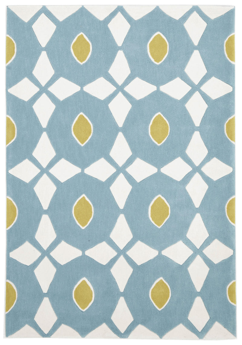 Blue and Yellow Nest Rug - MaddieBelle