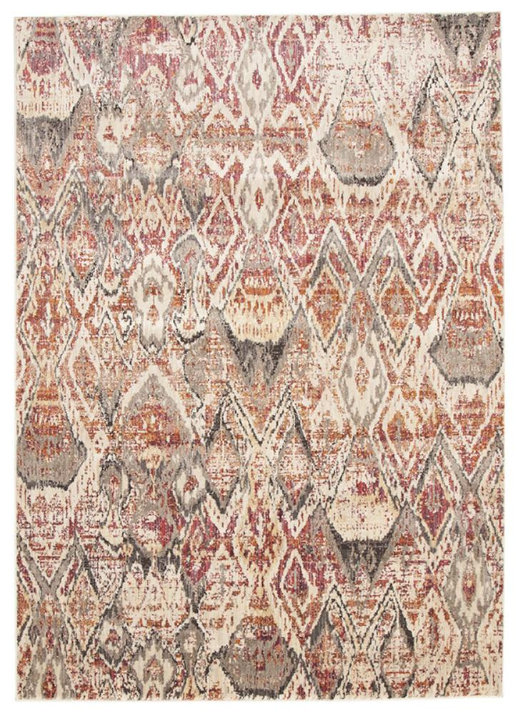 Fluid Sunset Modern Rust Rug - MaddieBelle