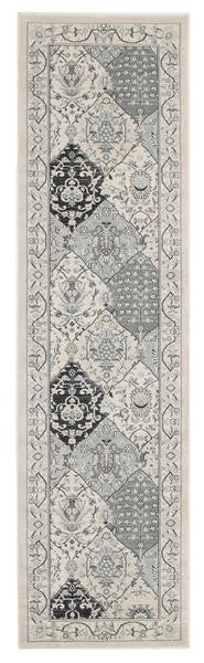 Persian Panel Design Runner Rug