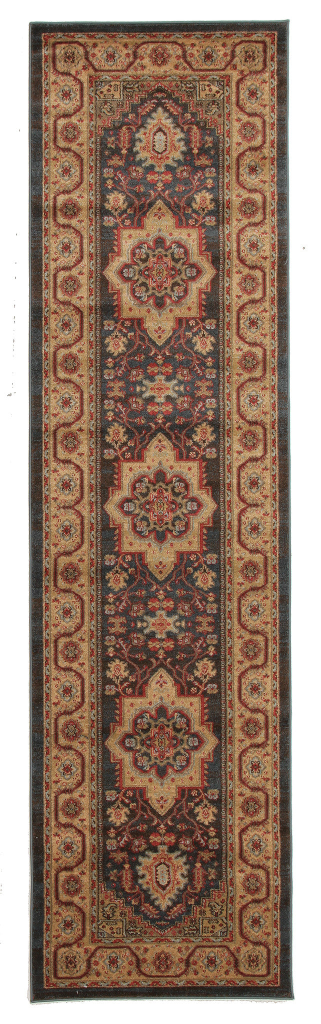 Antique Heriz Design Rug