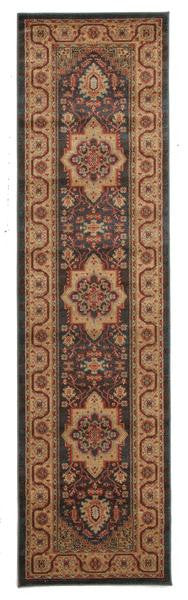 Antique Heriz Design Runner Rug - MaddieBelle