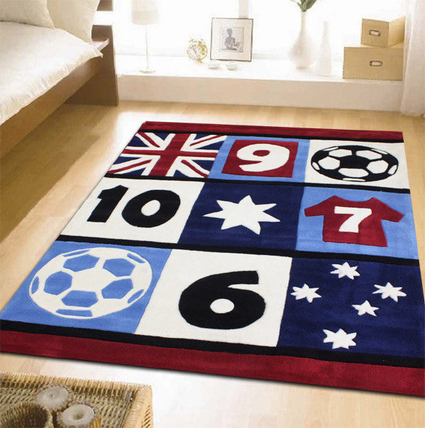 Awesome Soccer Kids Rug - MaddieBelle